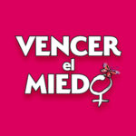 Vencer el Miedo logo with pink background
